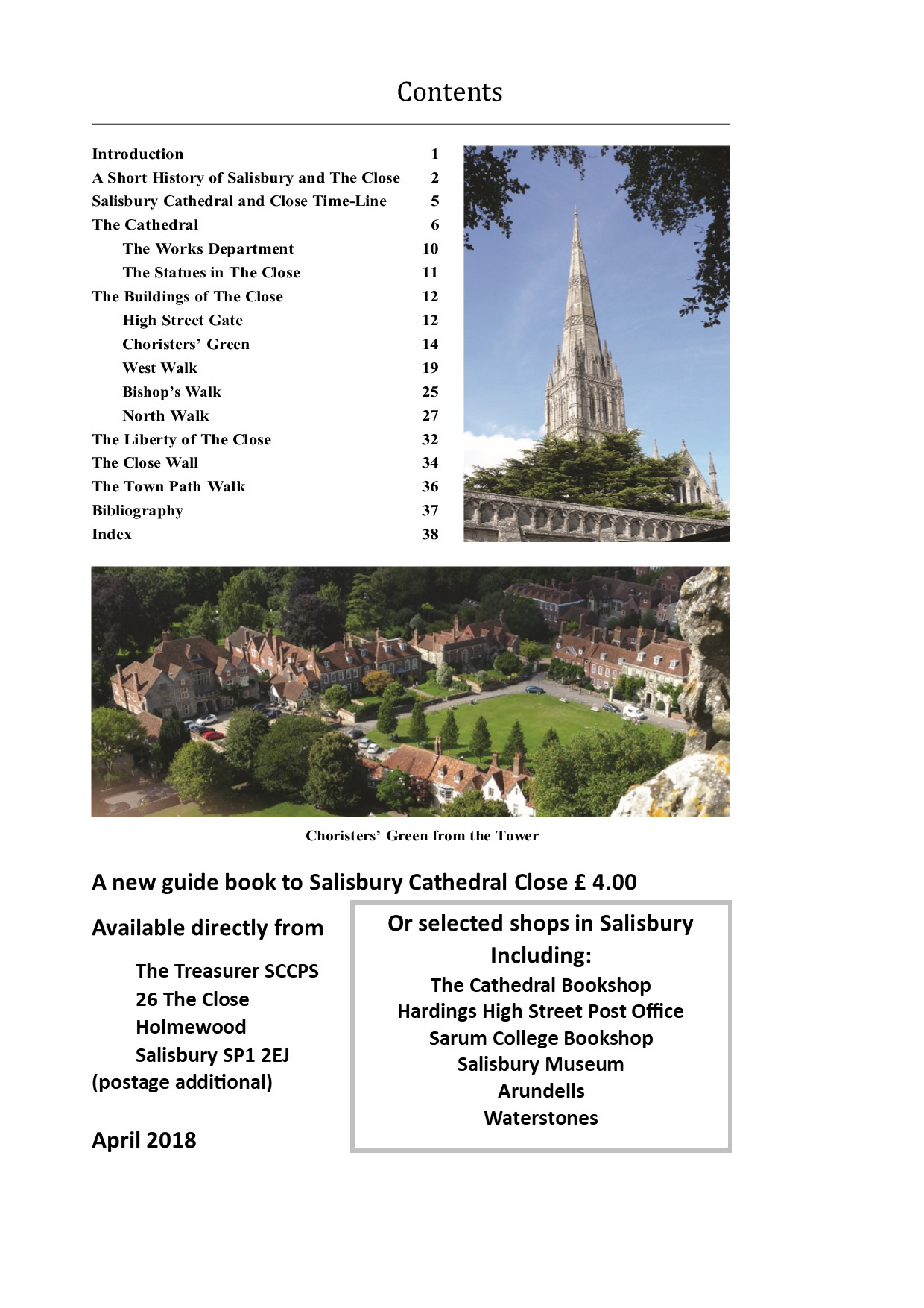 Guide Book Flyer